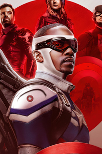 640x1136 The Falcon And The Winter Soldier Poster