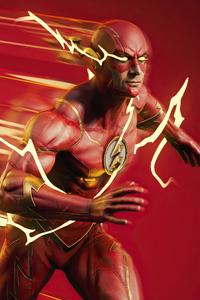 240x320 The Fan Art Of Flash 4k