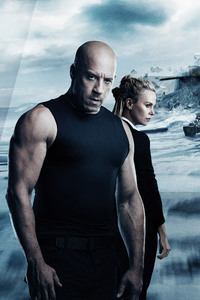 320x480 The Fate Of The Furious 2017 5k Movie