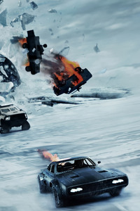 320x480 The Fate Of The Furious 2017 Movie 5k