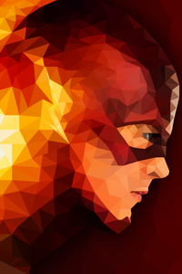 The Flash Abstract Artwork