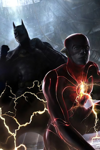 540x960 The Flash And Batman