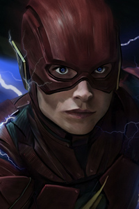1280x2120 The Flash Barry Allen 4K