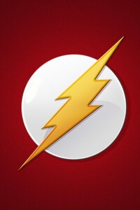 480x800 The Flash Logo