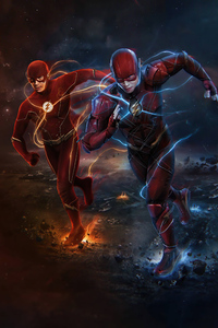 720x1280 The Flash Of Two Worlds 5k