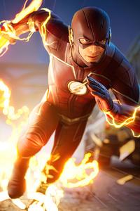 The Flash Running Lightning Speed Fortnite 4k 2021