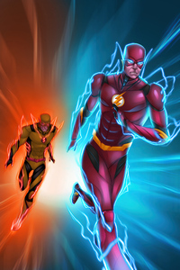 The Flash Vs Reverse Flash 4k