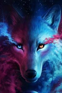 800x1280 The Galaxy Wolf