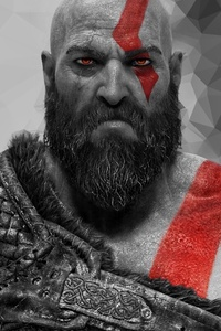 480x800 The Ghost God Of War 5k