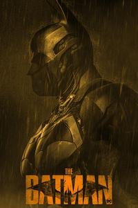 750x1334 The Golden Batman 4k