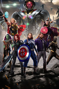 360x640 The Guardians Of The Multiverse What If 4k