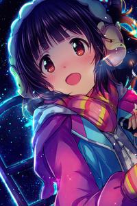 750x1334 The Idolmaster Iku Nakatan 4k