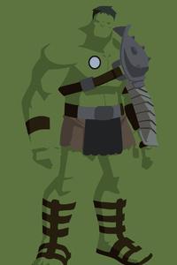 The Incredible Hulk Minimalist