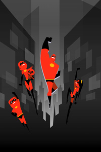 The Incredibles 2 Artwork 5k