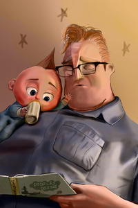 The Incredibles 2 Jack Jack Par Mr Incredible