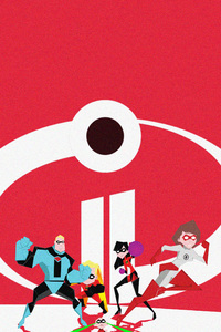 The Incredibles 2 Movie Artwork