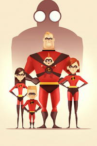 540x960 The Incredibles 2 Poster 4k