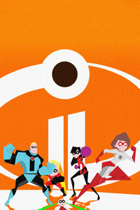 The Incredibles 2 Poster Artwork