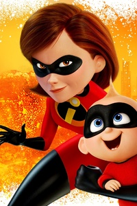 1080x2280 The Incredibles 2 Poster New