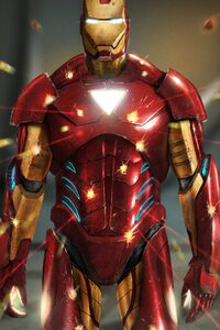 The Invincible Iron Man Art