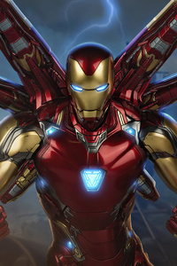2160x3840 The Iron Man Mark 85 4k