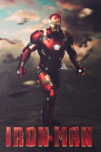 The Iron Man Poster 4k