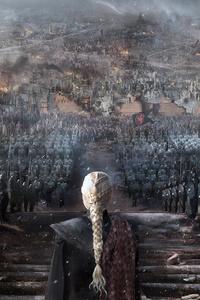 480x854 The Iron Throne 4k
