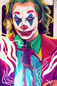 1242x2688 The Joker 4k Joaquin Phoenix