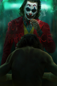 The Joker Fanart Smoke 4k