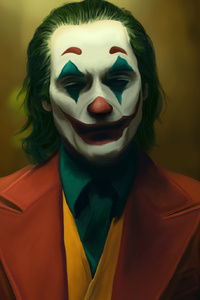 1440x2960 The Joker Joaquin Phoenix Art New