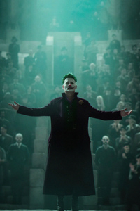 480x800 The Joker Johnny Depp 5k