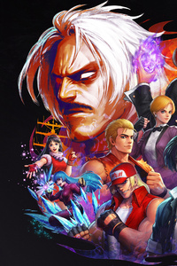 1080x1920 The King Of Fighters All Star