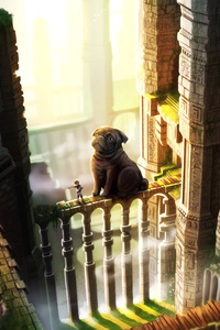 The Last Guardian Pug Dog 5k
