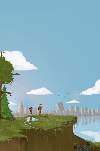 720x1280 The Last Of Us 8bit