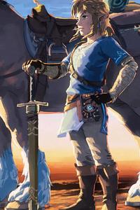 720x1280 The Legend Of Zelda Artwork