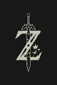 The Legend Of Zelda Minimal Logo 4k