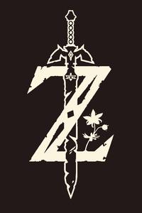 800x1280 The Legend Of Zelda Minimalist