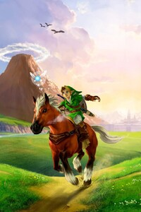 1080x2160 The Legend Of Zelda Ocarina Of Time 3D