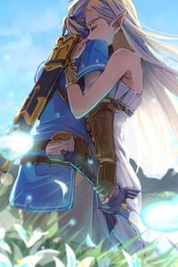 The Legend Of Zelda Romantic Love Artwork