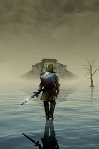 The Legend Of Zelda Walking Art