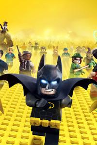 The Lego Batman 4k