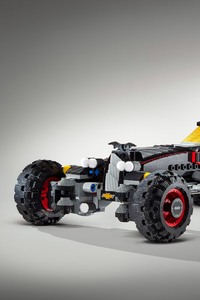 The Lego Batman Batmobile