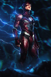 2160x3840 The Lightning Flash