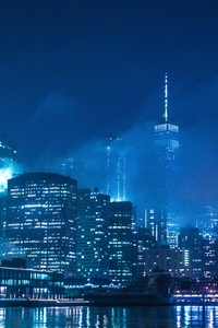 480x854 The Lights Of New York 4k