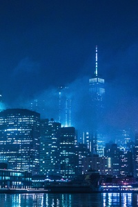 1080x2160 The Lights Of New York