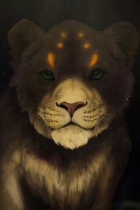 The Lion Art