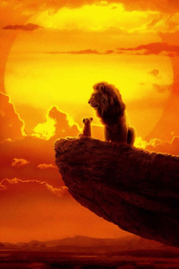 320x480 The Lion King 2019 4k