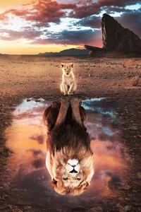 720x1280 The Lion King Fanart 5k