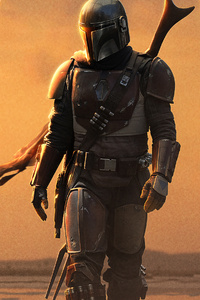720x1280 The Mandalorian 2019 4k New