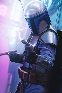 The Mandalorian 2020 Artwork